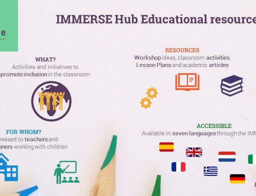 Educational resources to promote integration are now available in seven languages through the IMMERSE Hub
